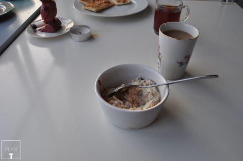 ontbijt yoghurt appel havermout