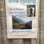 langzaam fietsen