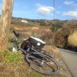 een donkere berg op fietsen, zo kan het ook (dag 14)